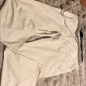 Greys anatomy white active pants Large